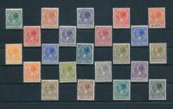 Nederland 1926 Koningin Wilhelmina Veth NVPH 177-198 Ongebruikt