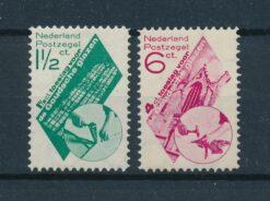 Nederland 1931 Goudse glazen NVPH 238-239 Ongebruikt
