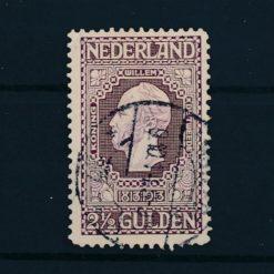 Nederland 1913 Jubileumzegels 100 jaar onafhankelijkheid. 2,5 gld donkerviolet NVPH 99 Gestempeld
