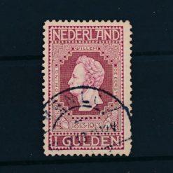 Nederland 1913 Jubileumzegels 100 jaar onafhankelijkheid. 1 gld wijnrood NVPH 98 Gestempeld