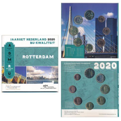 107852 Nederland 2020 Wilem Alexander BU jaarset Rotterdam