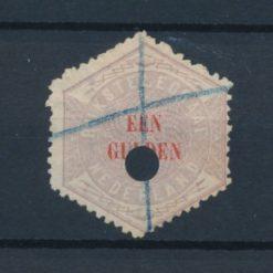 Nederland 1877-1903 Telegramzegel 1 gulden NVPH TG11 Gestempeld