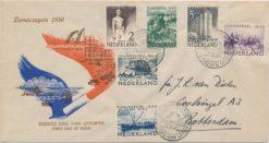 Nederland 1950 FDC Zomer met geschreven adres E1