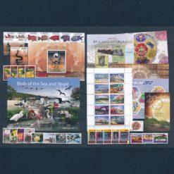 Curacao 2012 Complete jaargang  Postfris