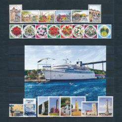 Curacao 2018 Complete jaargang  Postfris
