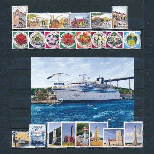 Curacao 2018 Complete jaargang  Postfris 1