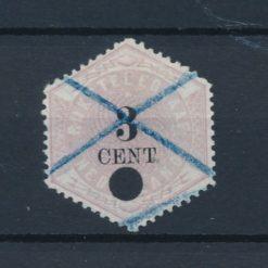 Nederland 1877-1903 Telegramzegel 3 cent NVPH TG2 Gestempeld