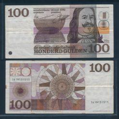 Nederland 1970 100 Gulden Michiel de Ruyter Bankbiljet Zeer fraai