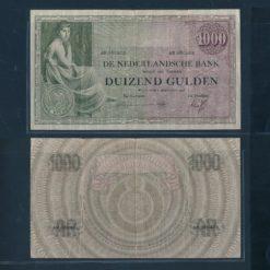 Nederland 1926 1000 Gulden Grietje Seel zittende vrouw Bankbiljet Fraai