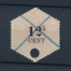 Nederland 1877-1903 Telegramzegel 12,5 cent NVPH TG4 Gestempeld