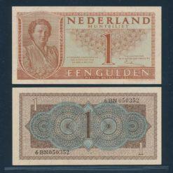 Nederland 1949 1 Gulden Bankbiljet UNC