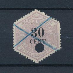 Nederland 1877-1903 Telegramzegel 30 cent NVPH TG8 Gestempeld