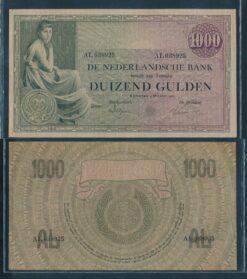 Nederland 1926 1000 Gulden Grietje Seel bankbiljet Pracht