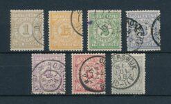 Nederland 1884 Postbewijs NVPH PW1-7 Gestempeld