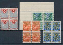 Nederland 1926 Kinderzegels in blokken van 4 NVPH R74-R77 Postfris SCHAARS
