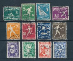 Nederland 1928 Complete jaargang Gestempeld