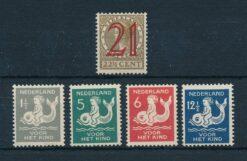 Nederland 1929 Complete jaargang Postfris