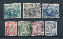 Nederland 1930 Complete jaargang Gestempeld