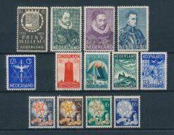 Nederland 1933 Complete jaargang Postfris