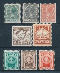 Nederland 1924 Complete jaargang Postfris