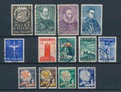 Nederland 1933 Complete jaargang Gestempeld