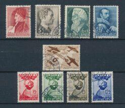 Nederland 1935 Complete jaargang Gestempeld