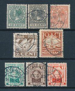 Nederland 1924 Complete jaargang Gestempeld