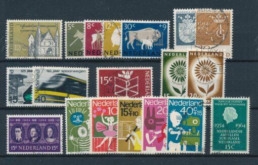 Nederland 1964 Complete jaargang Gestempeld 1