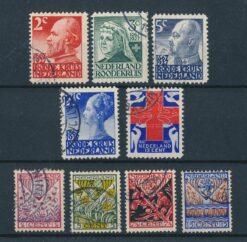 Nederland 1927 Complete jaargang Gestempeld