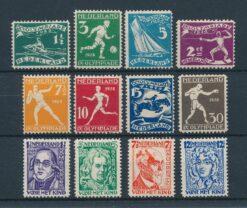 Nederland 1928 Complete jaargang Postfris